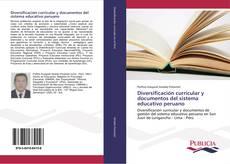 Capa do livro de Diversificación curricular y documentos del sistema educativo peruano