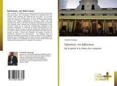 Salomon, roi bâtisseur kitap kapağı