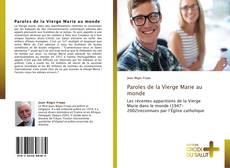 Portada del libro de Paroles de la Vierge Marie au monde