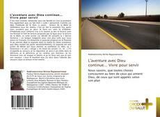 Capa do livro de L'aventure avec Dieu continue... Vivre pour servir
