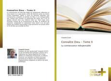 Portada del libro de Connaître Dieu - Tome II