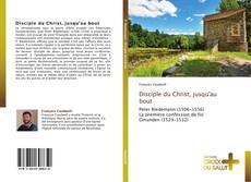 Capa do livro de Disciple du Christ, jusqu'au bout