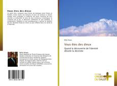 Buchcover von Vous êtes des dieux