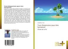 Trois Dimensions pour être Surnaturel kitap kapağı