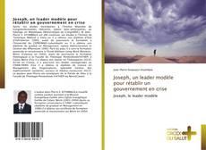 Bookcover of Joseph, un leader modèle pour rétablir un gouvernement en crise
