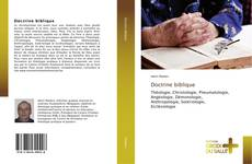 Bookcover of Doctrine biblique