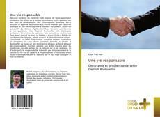 Bookcover of Une vie responsable