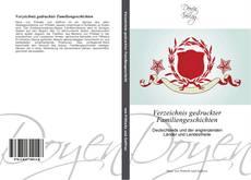 Buchcover von Verzeichnis gedruckter Familiengeschichten