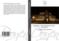 Sachsen: Vom Königreich zum Freistaat kitap kapağı
