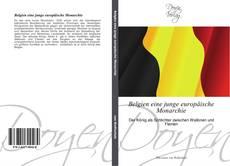 Buchcover von Belgien eine junge europäische Monarchie