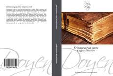 Capa do livro de Erinnerungen einer Urgrossmutter