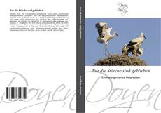 Capa do livro de Nur die Störche sind geblieben