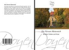 Buchcover von Die Fürsten Metternich