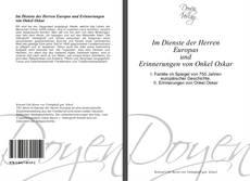 Buchcover von Im Dienste der Herren Europas  und  Erinnerungen von Onkel Oskar