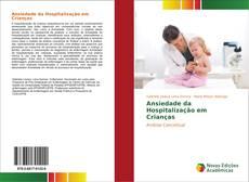 Capa do livro de Ansiedade da Hospitalização em Crianças