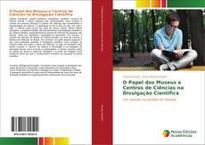 Capa do livro de O Papel dos Museus e Centros de Ciências na Divulgação Científica