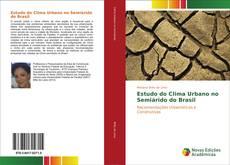 Capa do livro de Estudo do Clima Urbano no Semiárido do Brasil