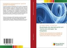 """Capa do livro de Qualidade do atendimento em """"porta de entrada"""" de hospitais"""