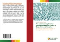 Capa do livro de As recomendações do Zoneamento Bioclimático Brasileiro na Paraíba