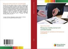 Borítókép a  Pesquisa institucional em contabilidade - hoz