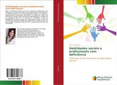 Portada del libro de Habilidades sociais e profissionais com deficiência