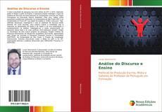 Capa do livro de Análise do Discurso e Ensino