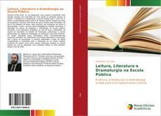 Capa do livro de Leitura, Literatura e Dramaturgia na Escola Pública