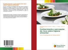 Capa do livro de Conhecimento e percepção de risco sobre higiene alimentar
