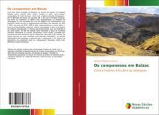 Os camponeses em Balzac kitap kapağı
