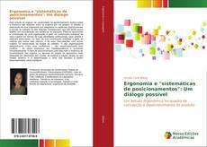 """Portada del libro de Ergonomia e """"sistemáticas de posicionamentos"""": Um diálogo possível"""