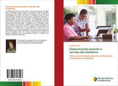 Capa do livro de Comunicação popular a serviço da cidadania