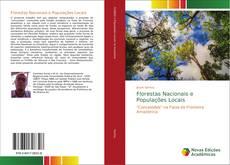 Capa do livro de Florestas Nacionais e Populações Locais