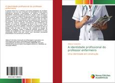 Capa do livro de A identidade profissional do professor enfermeiro
