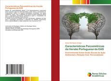 Обложка Características Psicométricas da Versão Portuguesa da EAS