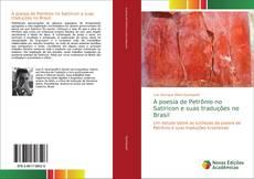 Обложка A poesia de Petrônio no Satíricon e suas traduções no Brasil