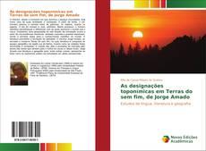 Capa do livro de As designações toponímicas em Terras do sem fim, de Jorge Amado
