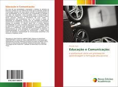 Capa do livro de Educação e Comunicação: