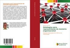 Capa do livro de Ontologias para representação da memória organizacional