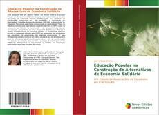 Capa do livro de Educação Popular na Construção de Alternativas de Economia Solidária