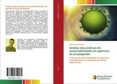 Bookcover of Análise das práticas de sustentabilidade em agências de propaganda