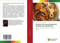 Capa do livro de A teoria da causalidade de Nicolau de Autrécourt