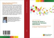 Обложка Planos de texto e sequências textuais descritivas