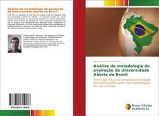 Capa do livro de Análise da metodologia de avaliação da Universidade Aberta do Brasil