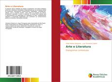 Capa do livro de Arte e Literatura