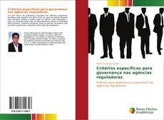 Bookcover of Critérios específicos para governança nas agências reguladoras