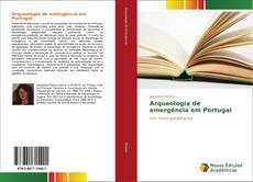 Capa do livro de Arqueologia de emergência em Portugal