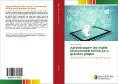 Capa do livro de Aprendizagem de inglês instrumental online para grandes grupos