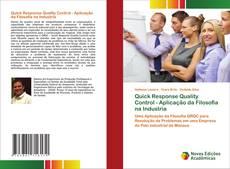 Обложка Quick Response Quality Control - Aplicação da Filosofia na Industria
