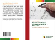 Bookcover of Estratégia ativa no mercado acionário brasileiro