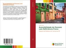 Capa do livro de Acessibilidade de Pessoas com Deficiência Física
